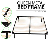 Metal Bed Frame Mattress