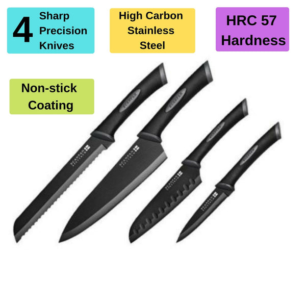 4 Piece Spectrum Knife Set