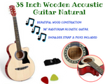 Wooden Acoustic Guitar