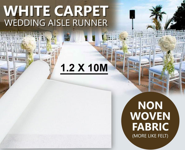 White Carpet Aisle