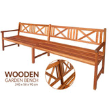 Wooden Outdoor Garden Bench
