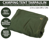 Canvas Tarp Waterproof