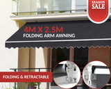 Outdoor Folding Arm Awning