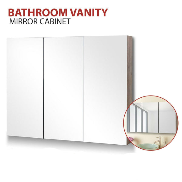 3 Door Bathroom Vanity Mirror