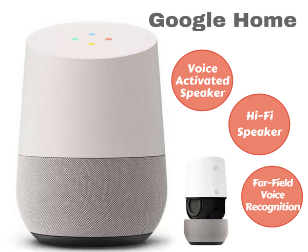 Google Home Smart Personal Voice Activated