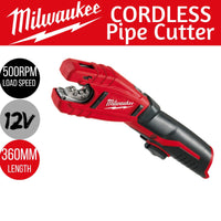 Cordless Pipe Cutter Tube