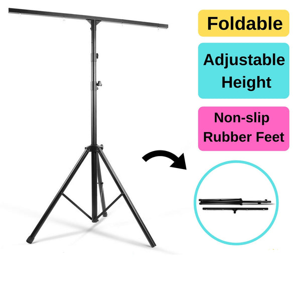 Tripod Studio Lighting T-Bar Stand