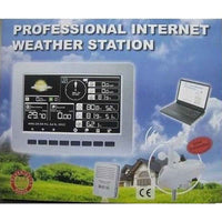 Solar Powered Weather Station