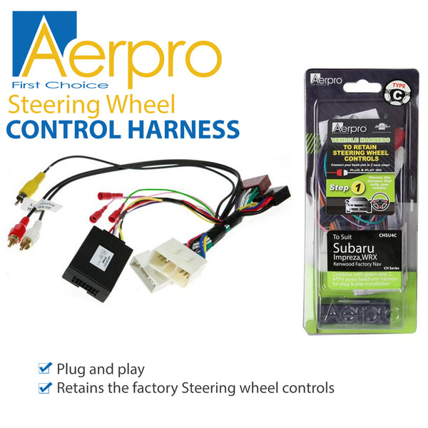 Aerpro SWC Harness + Patch Lead