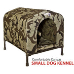Small Pet Dog Kennel Camo