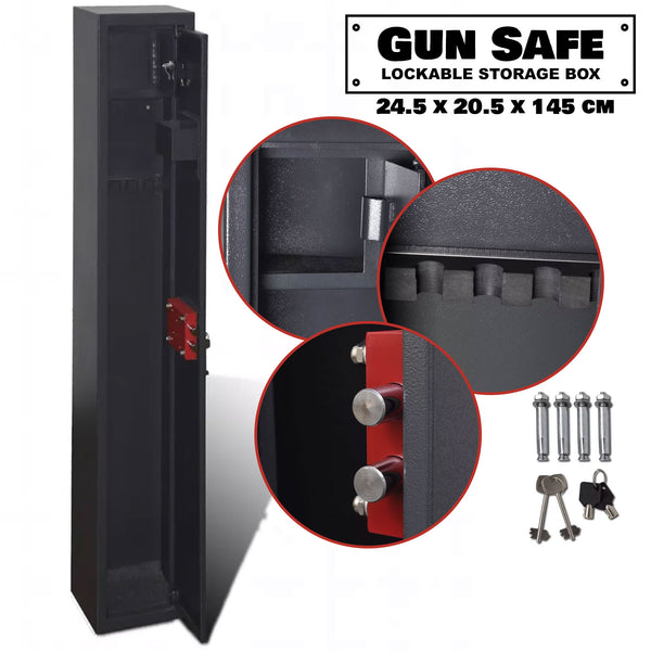 3 Gun Safe Rifle Storage Box