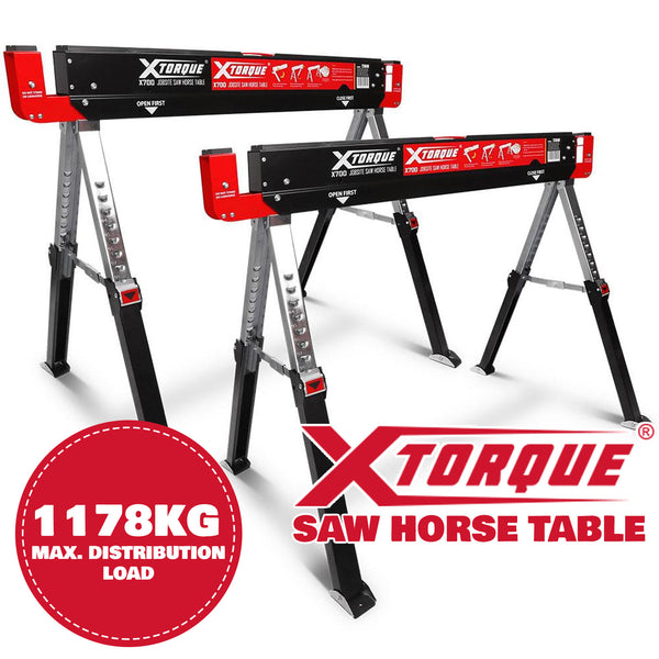 Xtorque Jobsite Saw Horse Table