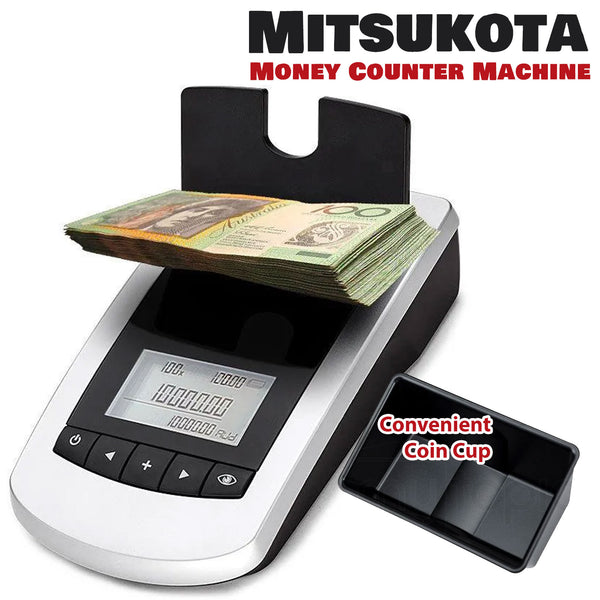 Portable Digital Note Coin Sorter Machine