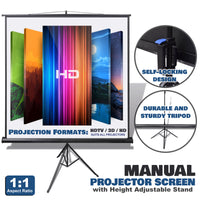 Projector Screen with Stand
