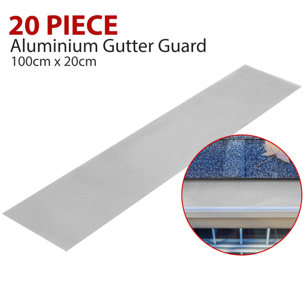 20 Piece Aluminium Gutter Guard