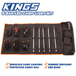 5 Bar LED Camp Light Kit