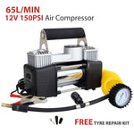 12V 150PSI Portable Air Compressor