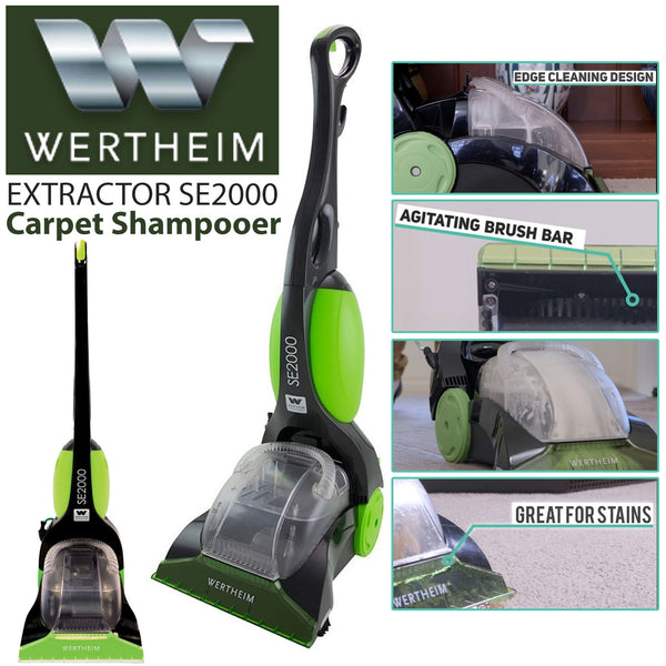 Wertheim Extractor Carpet Shampooer
