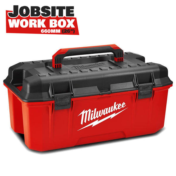 Milwaukee Jobsite Work Storage Tool Box