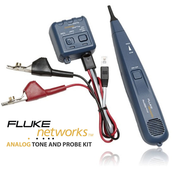 Fluke Networks Analog Toner and Probe Kit
