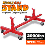 Mobile Axle Stand