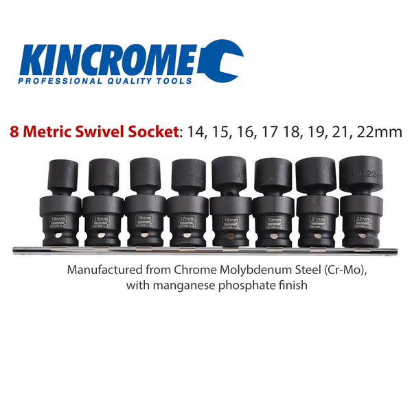 Kincrome Impact Swivel Socket Rail
