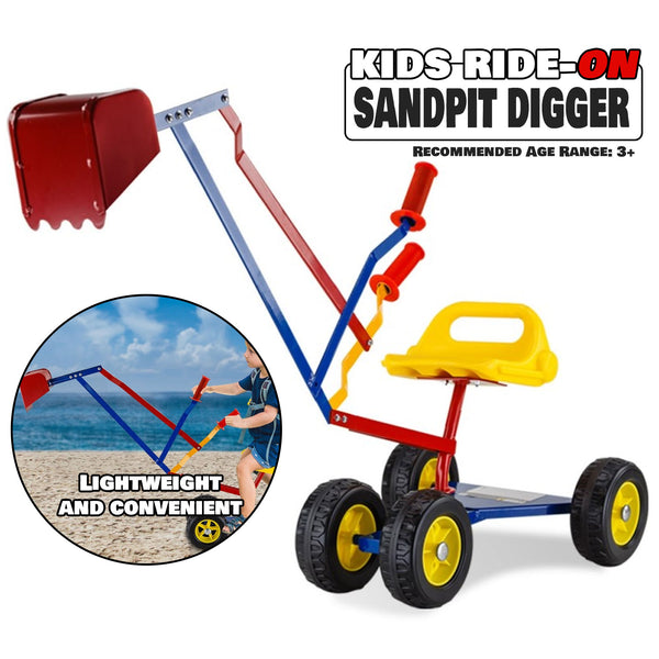 Kids Ride On Sandpit Digger Excavator