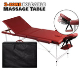 3 Zone Foldable Massage Table