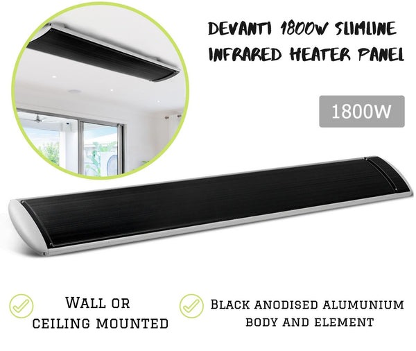 Slimline Infrared Wall Ceiling Heater