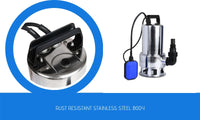 1800W Submersible Garden Water Pump