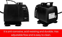 Submersible Fountain Pond Pump