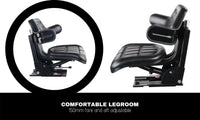 PU Leather Universal Adjustable Tractor Seat