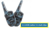 Uniden Handheld Two-Way Talk Radio