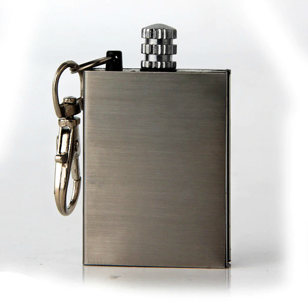 Stainless Steel Flint Lighter / Fire Starter