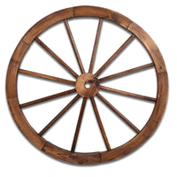 X2 Wooden Wagon Wheel