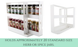 Slide & Store Cabinet Kitchen Organiser - White