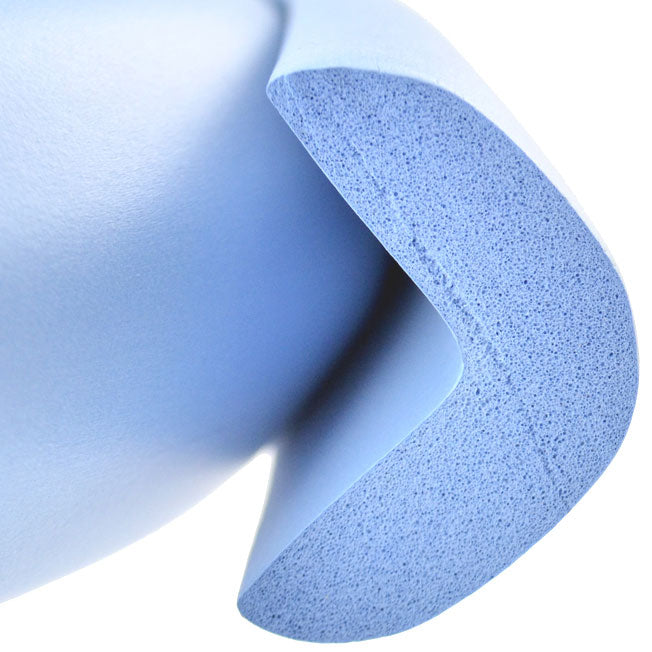 1 Roll Skyblue Jumbo L-Shaped Foam Edge Protector 78.7 inches (2 meters)