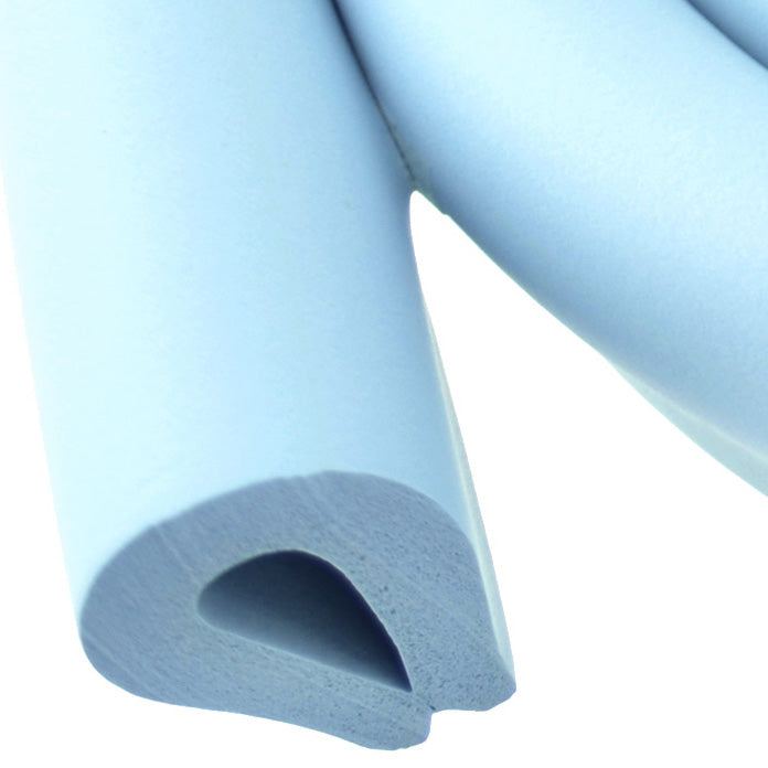 1 Roll Skyblue U-Shaped Foam Edge Protector 78.7 inches (2 meters)