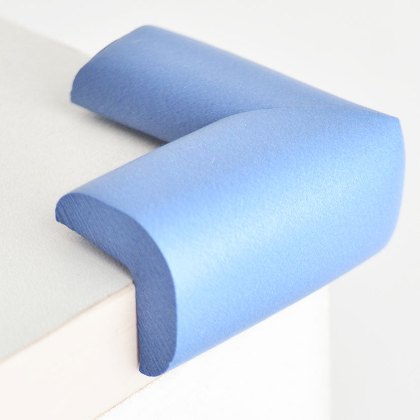 12 Pieces Skyblue Standard L-Shaped Foam Corner Protectors