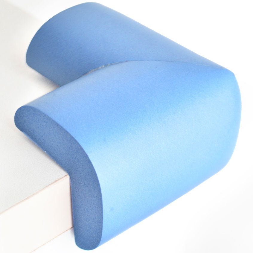 12 Pieces Skyblue Jumbo L-Shaped Foam Corner Protectors