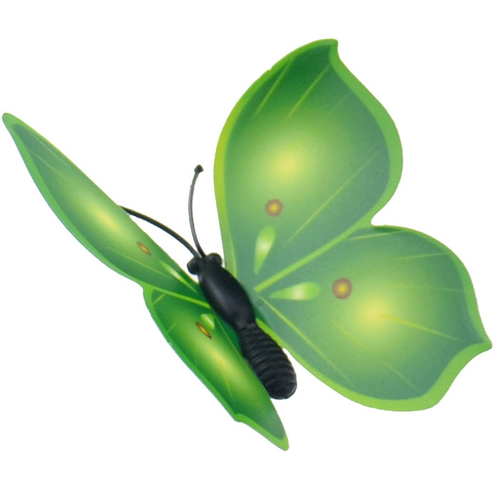 Green Butterflies Decorations with Magnet