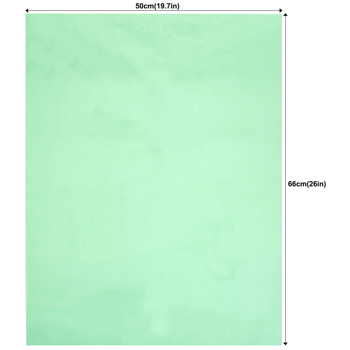 50 Sheets Light Green Wrapping Tissue Paper