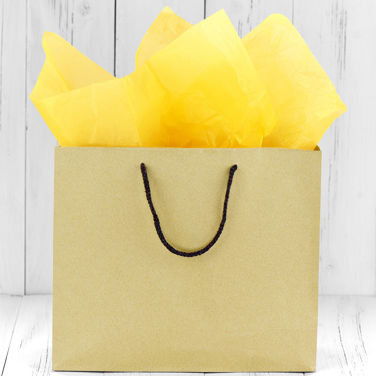 50 Sheets Dark Yellow Wrapping Tissue Paper