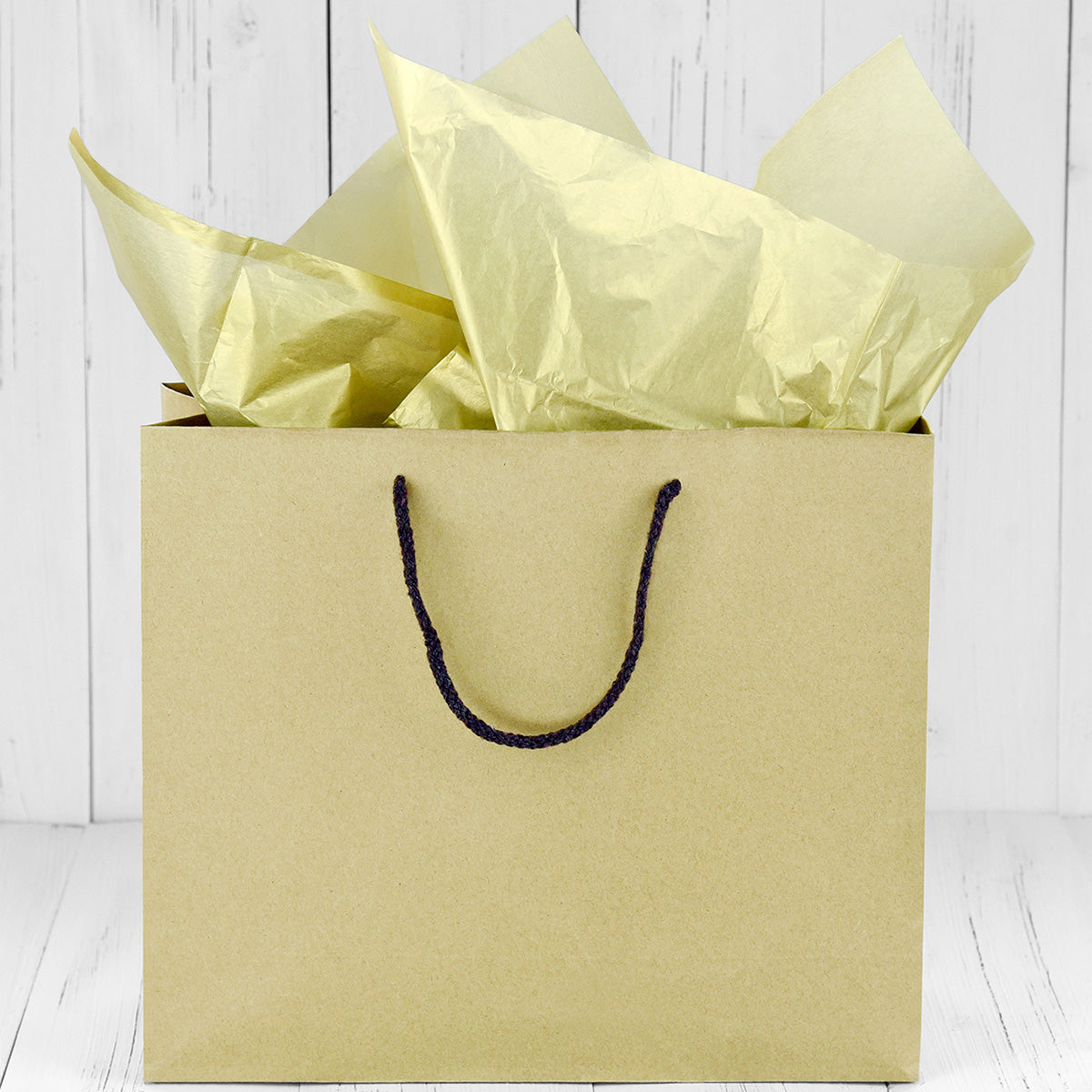 50 Sheets Gold Wrapping Tissue Paper