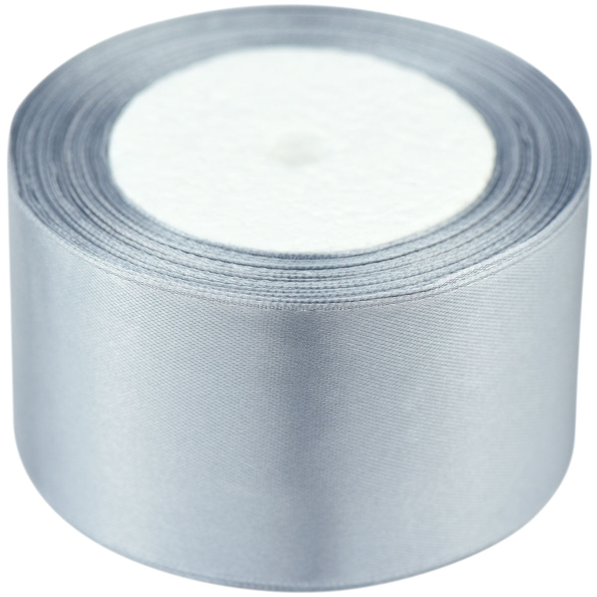 40mm Gray Single Sided Satin Ribbon