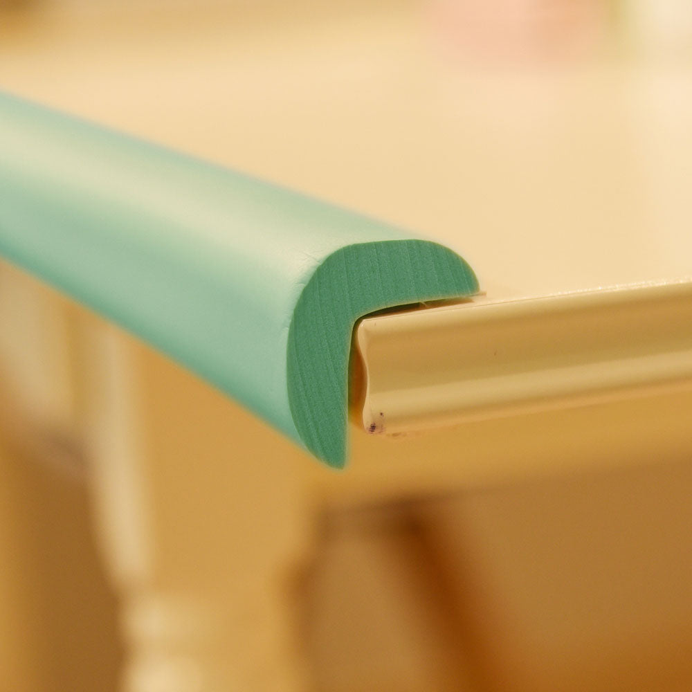 1 Roll Mint Green Jumbo L-Shaped Foam Edge Protector 78.7 inches (2 meters)