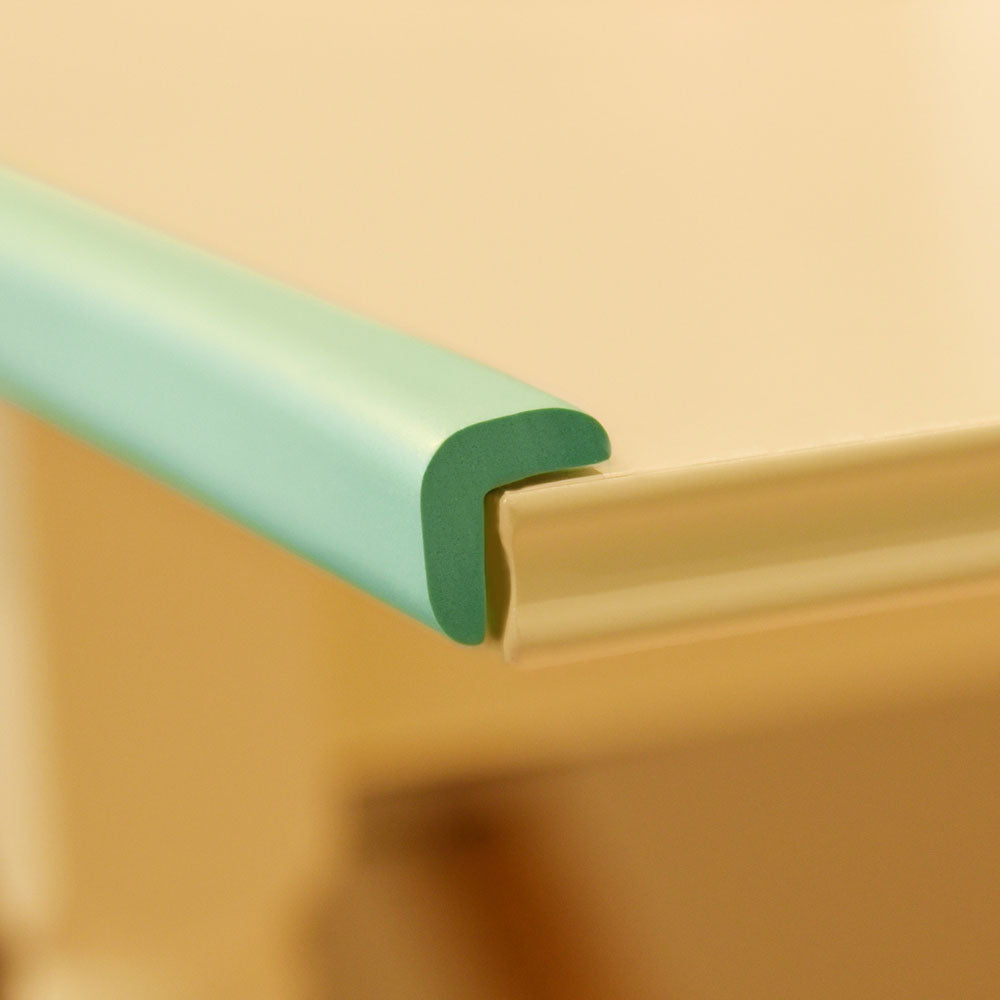 1 Roll Mint Green Standard L-Shaped Foam Edge Protector 78.7 inches (2 meters)