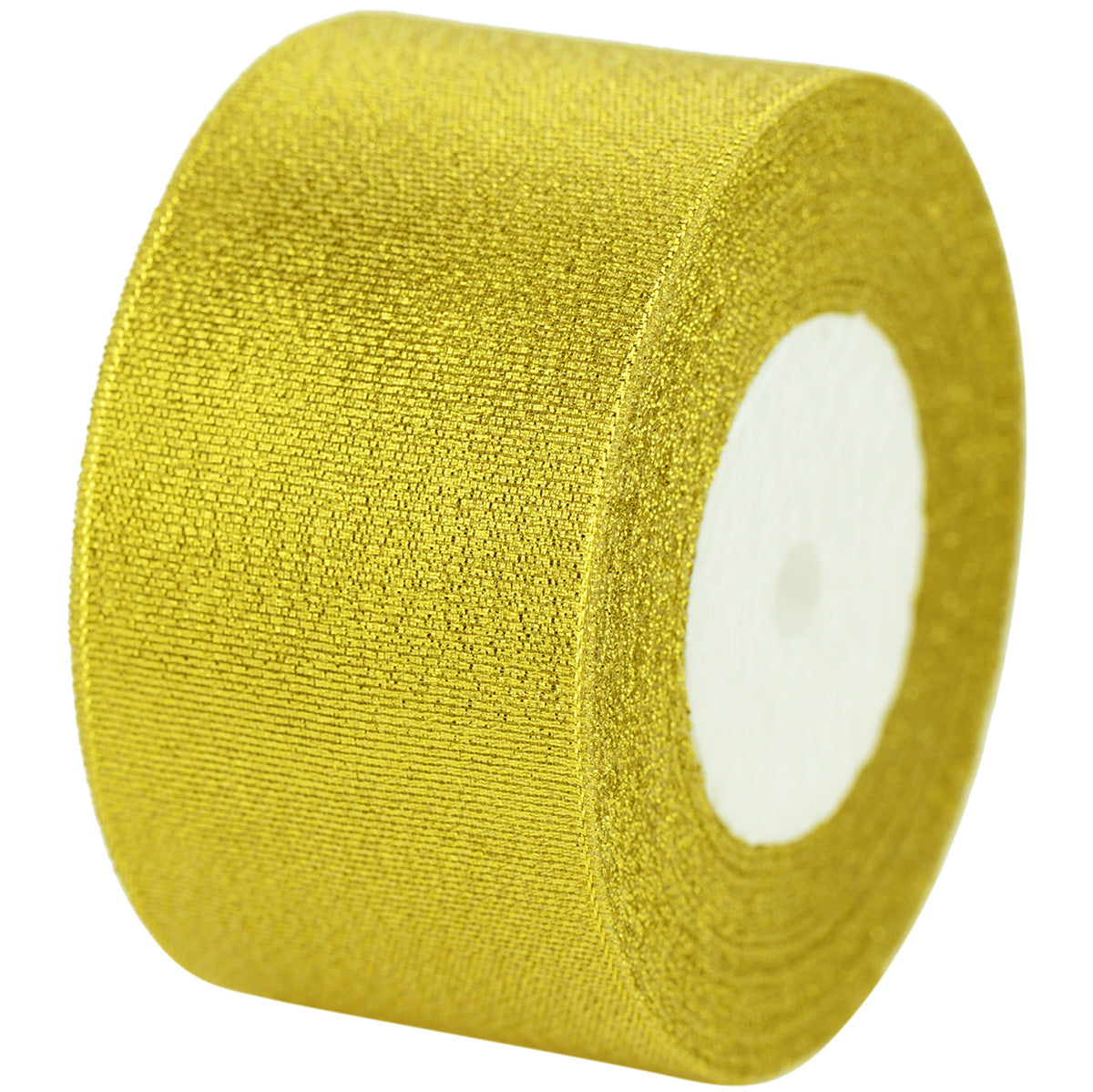 50mm Gold Metallic  Single Sided Ribbon