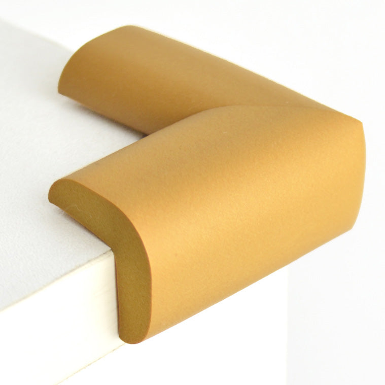12 Pieces Ginger Standard L-Shaped Foam Corner Protectors