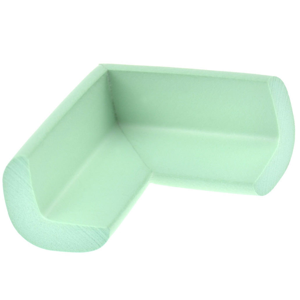 12 Pieces Mint Green Standard L-Shaped Foam Corner Protectors